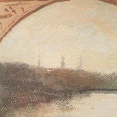 Arte: R. MARTIN IGLESIAS OLEO SOBRE TABLA. Lote 149735946