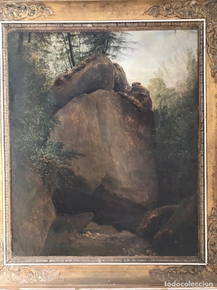 JOHANN BALTHAZAR BULLINGER, SWISS , XVIII CENTURY. PAYSAGE. (Arte - Pintura - Pintura al Óleo Antigua siglo XVIII)