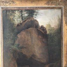 Arte: JOHANN BALTHAZAR BULLINGER, SWISS , XVIII CENTURY. PAYSAGE.. Lote 149789201