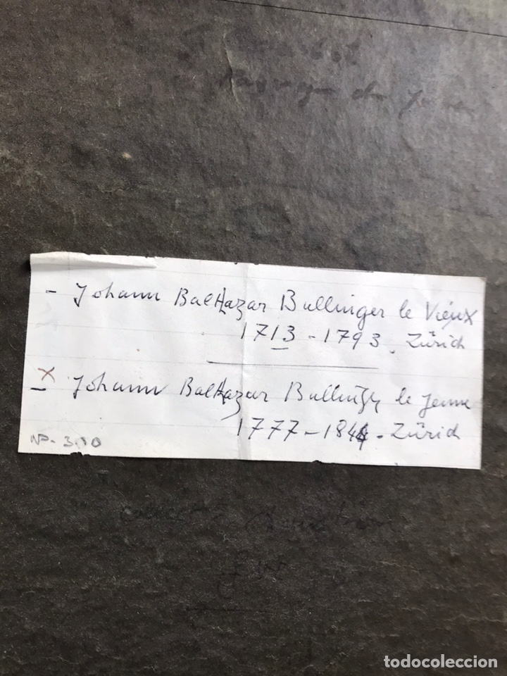 Arte: Johann Balthazar Bullinger, swiss , XVIII century. Paysage. - Foto 6 - 149789201