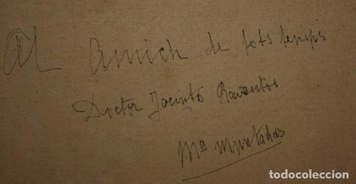 Arte: MARIA MUNTADAS DE CAPARÁ (Barcelona, 1890 - 1965) TECNICA MIXTA SOBRE TELA FECHADO DE AÑO 1927 - Foto 14 - 149840266