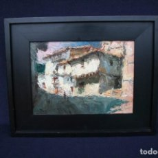 Arte: SOLER BLASCO, JUAN BAUTISTA, (GANDIA 1920-1984), ESTUPENDO OLEO SOBRE TABLA, FIRMADO.. Lote 149963218