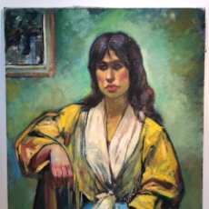 Arte: OLEO SOBRE TELA ATRIBUIBLE A LLOBET Y RIBAS .. Lote 149969933