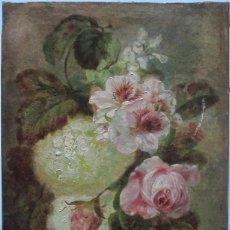 Arte: JOSE MIRABENT. ÓLEO. FIRMADO Y FECHADO 1856 . Lote 149972402