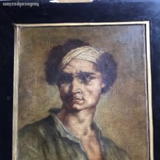 Arte: GERICAULLT, RETRATO , ESCUELA FRANCESA SIGLO XIX. Lote 150026636