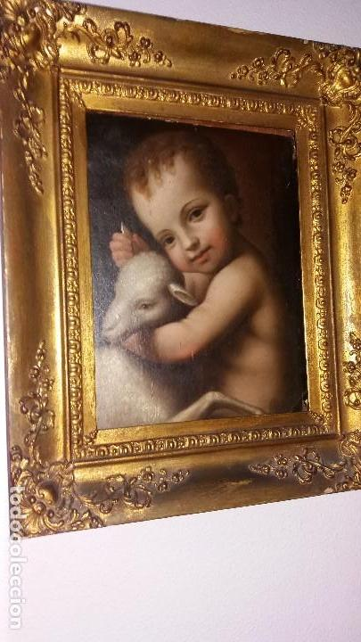 Arte: LUINI, BERNARDINO (LUINO 1485- MILÁN 1532): SAN JUANITO - Foto 2 - 150201058