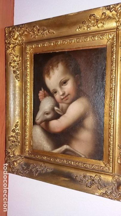 LUINI, BERNARDINO (LUINO 1485- MILÁN 1532): SAN JUANITO (Arte - Pintura - Pintura al Óleo Antigua siglo XVI)