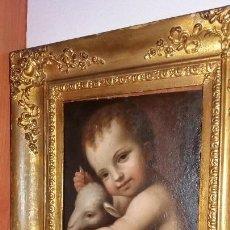 Arte: LUINI, BERNARDINO (LUINO 1485- MILÁN 1532): SAN JUANITO. Lote 150201058