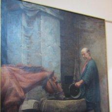 Arte: OLEO SOBRE LIENZO POR FRANCESC CASANOVAS GORCHS. Lote 150250682