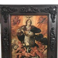 Arte: EXTRAORDINARIA INMACULADA ESC. ESPAÑOLA S. XVII, 2 M X 170. Lote 150275990