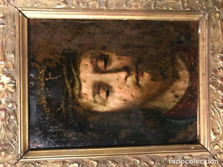Arte: ECCE HOMO, COBRE FLAMENCO, S. XVI - Foto 2 - 150276350