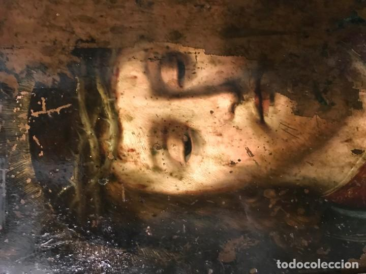 Arte: ECCE HOMO, COBRE FLAMENCO, S. XVI - Foto 3 - 150276350
