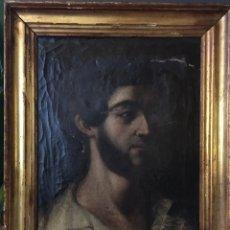 Arte: OLEO SOBRE LIENZO. RETRATO DEL XVII. ESCUELA ESPAÑOLA.. Lote 150478173