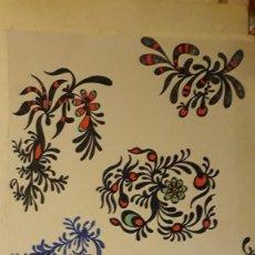 Arte - ABSTRACTO Cartulina ( SIN MARCO ) SANTA) n 0005/ CON LA COMPRA DE 5 CARTULINAS ABSTRACTA 1 DE REGALO - 150483106