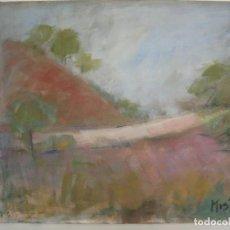 Arte: PINTURA ARTE MODERNO 1997 ÓLEO /LIENZO 46 X 38 CM. / ARTISTA MISTRAL. Lote 150656542