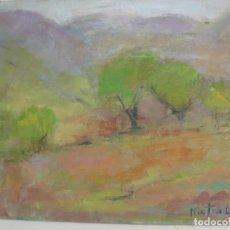 Arte: PINTURA ARTE MODERNO 1997 ÓLEO /LIENZO / BASTIDOR 46 X 55 CM. / ARTISTA MISTRAL. Lote 150658178