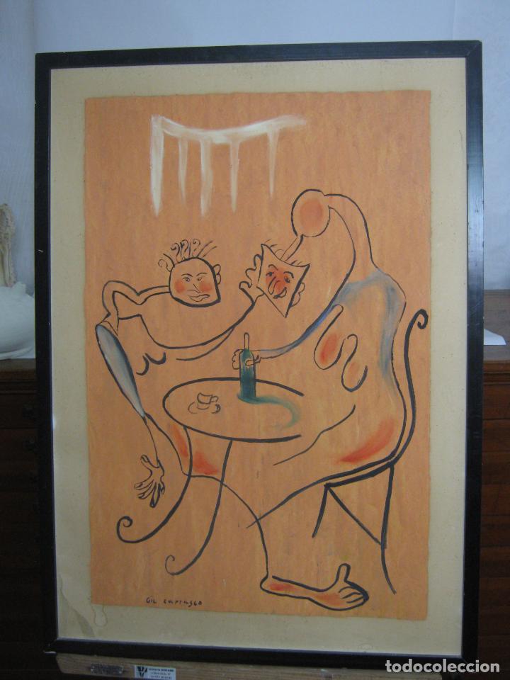 PINTURA SURREALISTA - FIRMADA (Arte - Pintura - Pintura al Óleo Contemporánea )