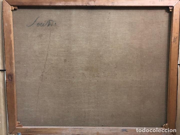Arte: ARTURO SOUTO (1902-1964),PONTEVEDRA,LUGO,ORENSE,VIGO,SANTIAGO,CORUÑA,MADRID,BARCELONA,SARGADELOS - Foto 4 - 148187126