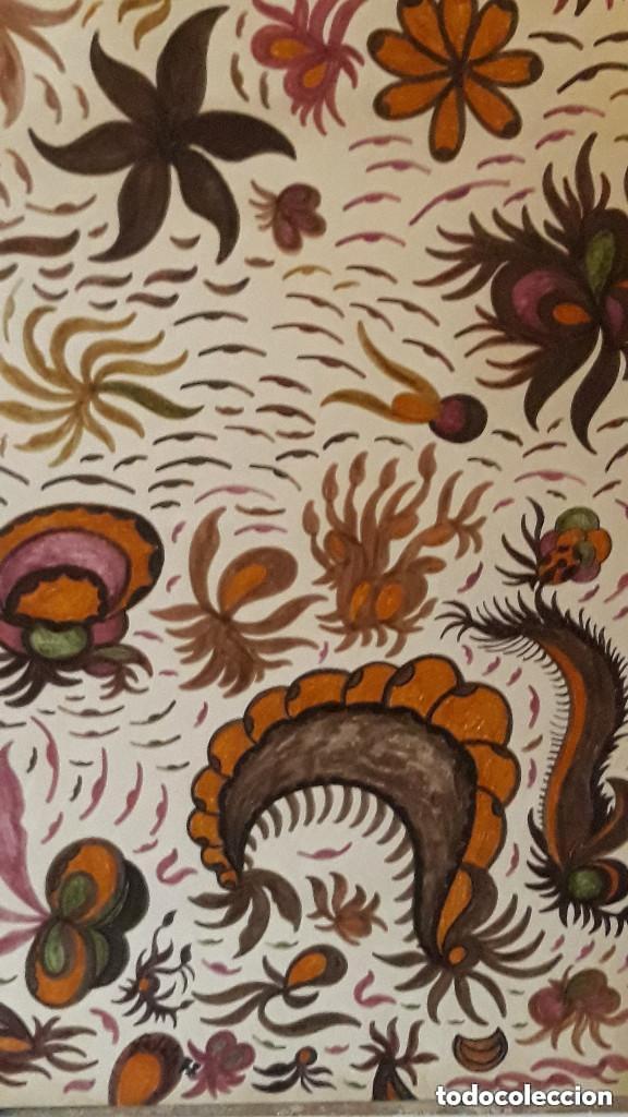 ABSTRACTO CARTULINA ( SIN MARCO )SALETA N0011 (Arte - Pintura Directa del Autor)