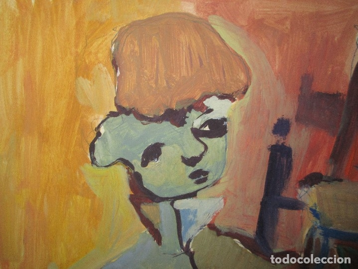Arte: antigua pintura oleo pintado EN CARTON ADQUIRDO EN MALAGA ATRIBUIDO A S. TORRES NARVAEZ CIRCA 1965 - Foto 21 - 150852862