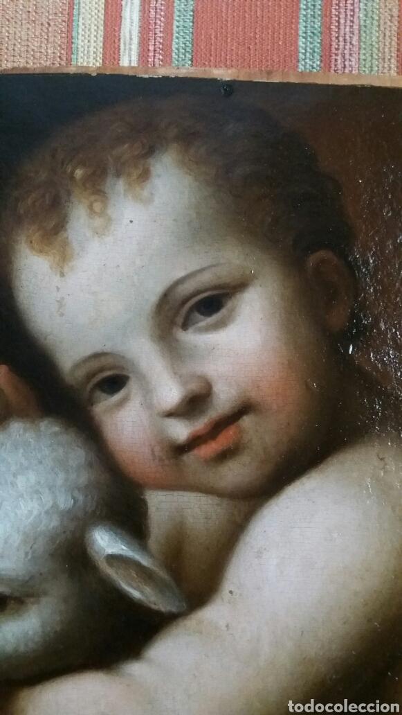 Arte: LUINI, BERNARDINO (LUINO 1485- MILÁN 1532): SAN JUANITO - Foto 8 - 150201058