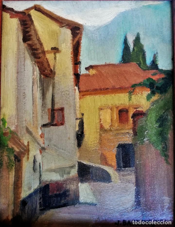 JOSEP BARRENECHEA TUBILLA. OLEO SOBRE TABLA (Arte - Pintura - Pintura al Óleo Contemporánea )