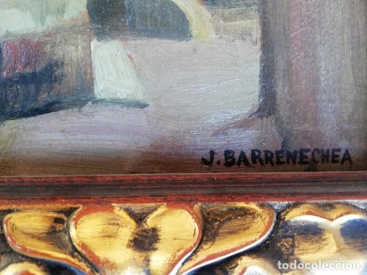 Arte: Josep Barrenechea Tubilla. Oleo sobre tabla - Foto 3 - 151020866