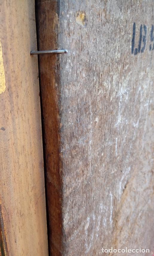 Arte: ÓLEO S/TABLA, SIGLO XVIII -ESCUELA ITALIANA-. DIMENSIONES.- 61.5X43 CMS, CON MARCO. - Foto 10 - 151029638