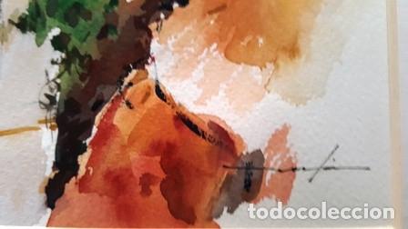 Arte: CUADRO ACUARELA - MOJACAR - JOSEP MARFA GUARRO - BARCELONA - - Foto 7 - 151043386
