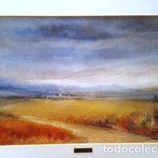Arte: CUADRO ACUARELA - SARRIGUELLA - ALT AMPURDA - JOSEP MARFA GUARRO - BARCELONA -. Lote 151044018