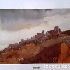 Arte: CUADRO ACUARELA -JOSEP MARFA GUARRO - BARCELONA -. Lote 151046878