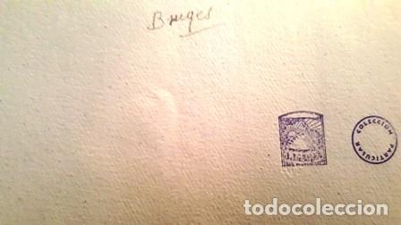Arte: CUADRO ACUARELA - BIUGES - JOSEP MARFA GUARRO - BARCELONA - - Foto 6 - 151058318