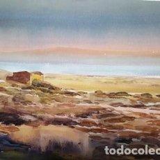 Arte: CUADRO ACUARELA - PAISATGE - MARI - JOSEP MARFA GUARRO - BARCELONA -. Lote 151058946