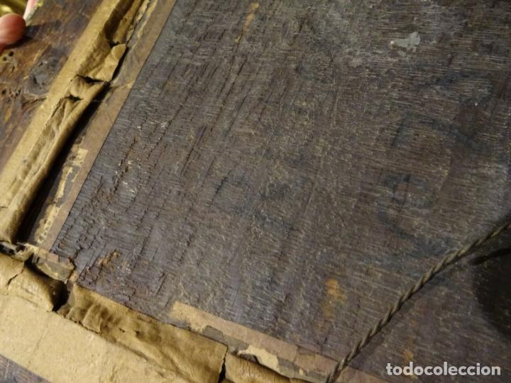 Arte: GRAN OBRA DE ARTE OLEO SOBRE TABLA DEL SIGLO XVI, MAESTRO ITALIANO, DESCENSO DE LA CRUZ, DE 1570/80 - Foto 12 - 151087914