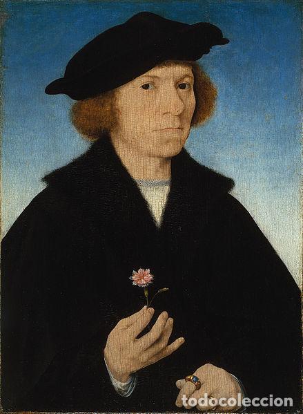 Arte: GRAN OBRA DE ARTE ATRIBUIDA A JOOS VAN CLEVE (1485-1540) RETRATO MUJER FLAMENCA, ALREDEDOR DE 1520 - Foto 10 - 151094330