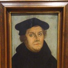 Arte: GRAN OBRA DE ARTE, RETRATO DE MARTIN LUTHER (1483-1546) CIRCULO LUCAS CRANACH THE ELDER (1472-1553). Lote 151097066