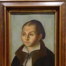 Arte: GRAN OBRA DE ARTE, RETRATO DE LA ESPOSA DE MARTIN LUTHER, CIRCULO LUCAS CRANACH THE ELDER(1472-1553). Lote 151141430