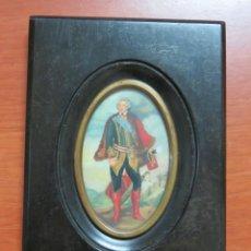 Arte: PRECIOSA MINIATURA AL OLEO SOBRE PLACA DE MARFIL DE JUSTIN PIERRE OUVRIÉ (1806-1879) ALREDEDOR 1840. Lote 151303614