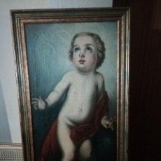 Arte: PINTURA NIÑO 90 X 50. Lote 151318550