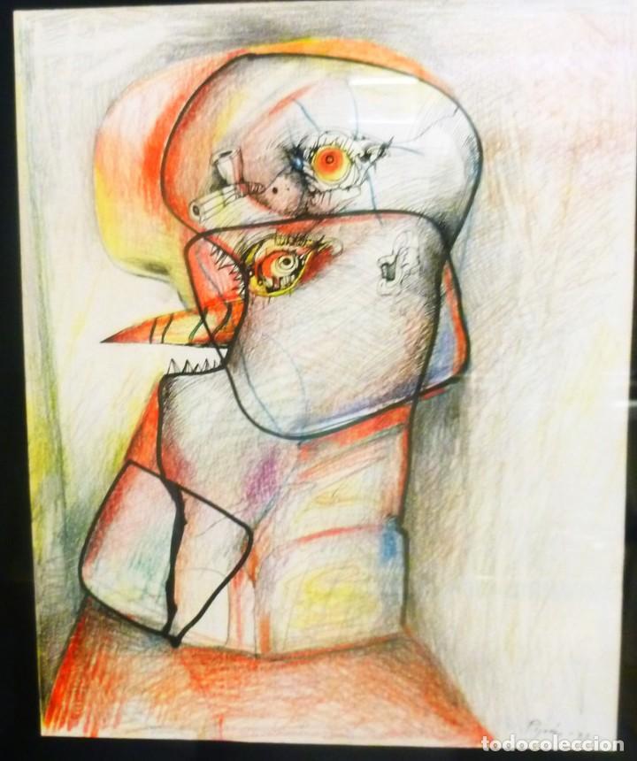 JUAN PIJOAN COMPOSICIÓN (Arte - Pintura Directa del Autor)