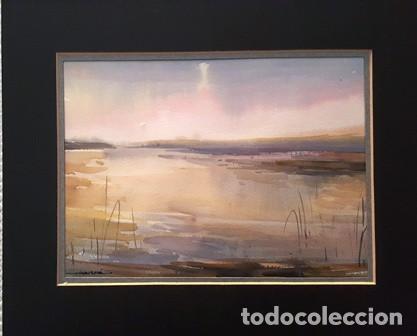 PINTURA ACUARELA - DE - JOSEP MARFA GUARRO - BARCELONA - (Arte - Pintura Directa del Autor)