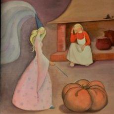 Arte: LA CENICIENTA, POR MIREIA CATALÁ, FIRMADA Y REPRODUCIDA. Lote 151548882