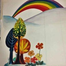 Arte: MIREIA CATALÁ, ILUSTRACIÓN ORIGINAL, 45X50 CMS. Lote 151549766