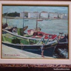 Arte: OLEO DE PASQUAL FRESQUET.BIEN ENMARCADO.. Lote 151555298