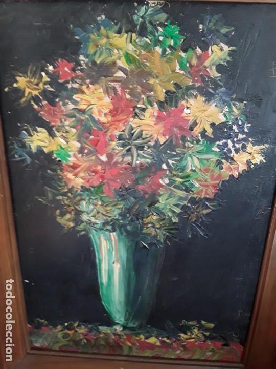 Pintura Al Oleo A Espatula Jarron Con Flores Kaufen