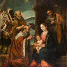 Arte: ESCUELA ESPAÑOLA SIGLO XVII - EPIFANÍA. Lote 151840502