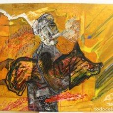 Arte: CARMELO ORTÍZ DE ELGUE (VITORIA-GASTEIZ 1944) ÓLEO SOBRE LIENZO. Lote 151849254
