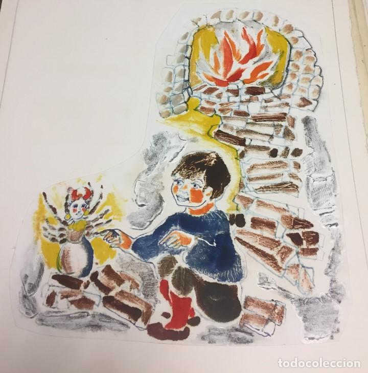 ROSER ODUBER MUNTANYOLA (1957), TECNICA MIXTA 40X50 CMS (Arte - Pintura - Pintura al Óleo Contemporánea )