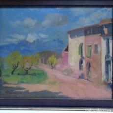 Arte: ÓLEO DE FERRAN GOMA I BORONAT(LA RIBA,TARRAGONA1906-2004).. Lote 151903594