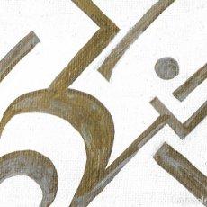 Arte: MINIMALISM-ALCOHOL MARKERS ART 9X7 CM. Lote 151909266